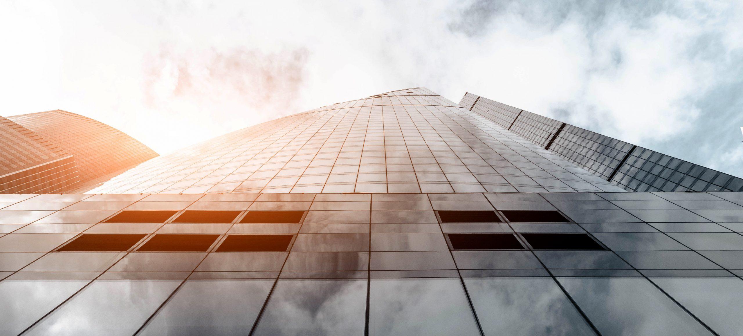 financial services skyscraper